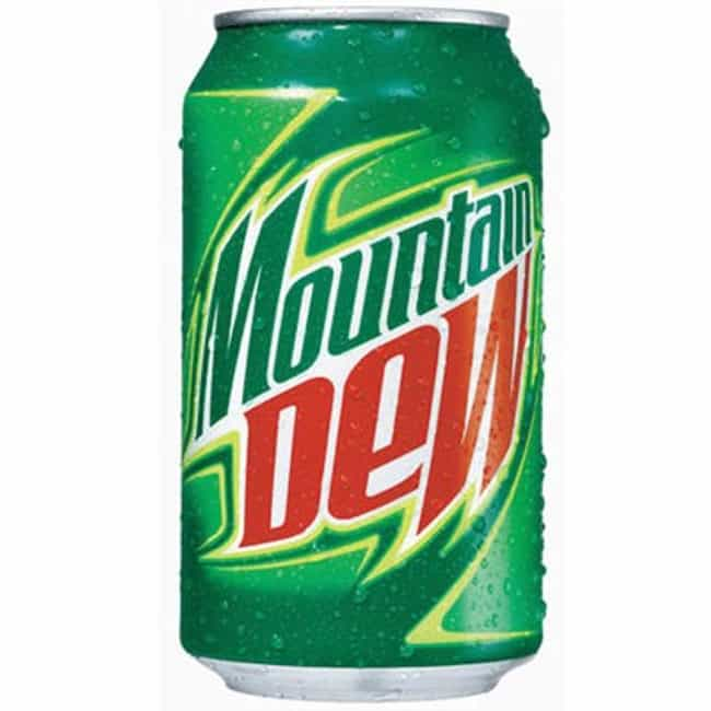 Mountain Dew is listed (or ranked) 2 on the list The Secrets Behind Widely Used Products