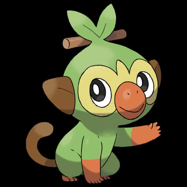 Grookey is listed (or ranked) 1 on the list The Best Generation 8 Pokémon