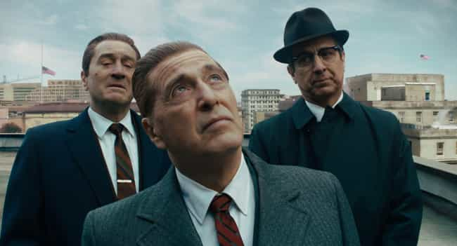 The Irishman is listed (or ranked) 4 on the list 15 Good Netflix Movies For Seniors You Can Watch With Your Grandparents