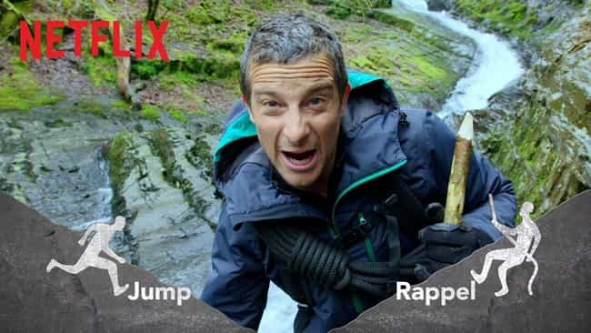 You vs. Wild is listed (or ranked) 3 on the list The Best Netflix Interactive Content