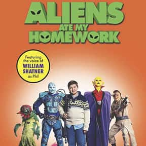 Aliens Ate My Homework is listed (or ranked) 22 on the list The Best Alien Movies Streaming On Netflix