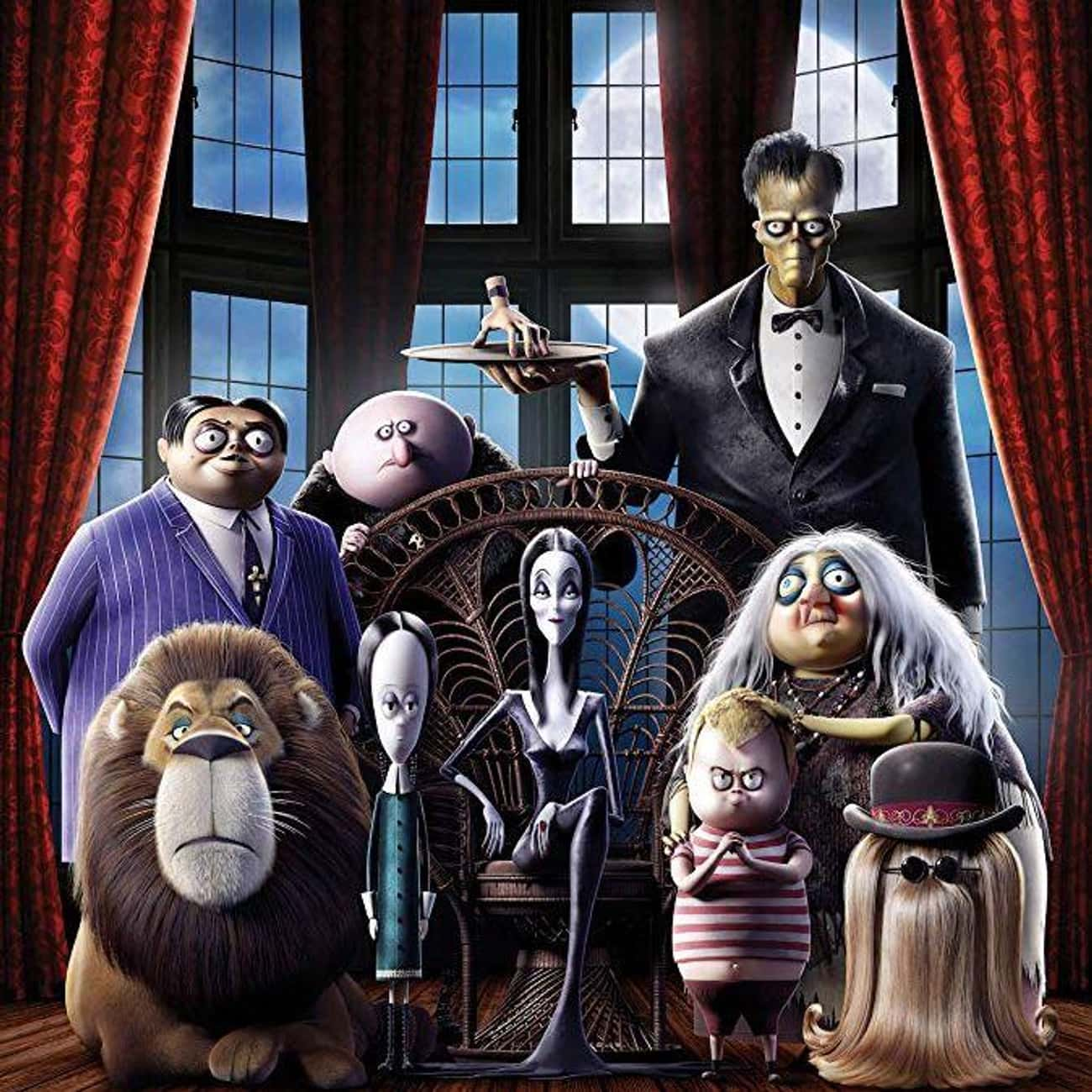 The Addams Family is listed (or ranked) 4 on the list The Best Movies and Series in the Addams Family Franchise