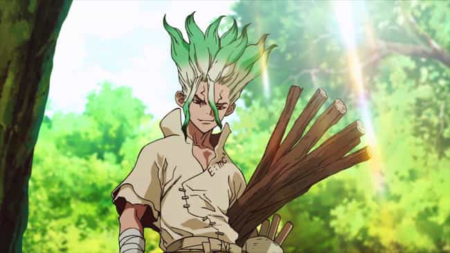 Dr. Stone is listed (or ranked) 1 on the list 15 Exciting Anime That Explore The World of Science