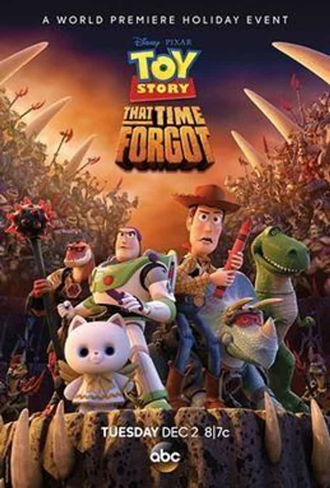 Toy Story That Time Forg... is listed (or ranked) 5 on the list All the Toy Story Movies (and Shorts), Ranked