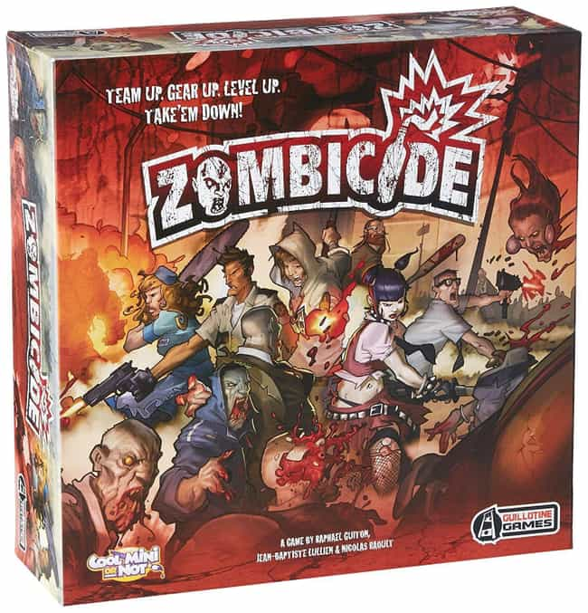 Zombicide is listed (or ranked) 3 on the list The Best Board Games Of The 2010s