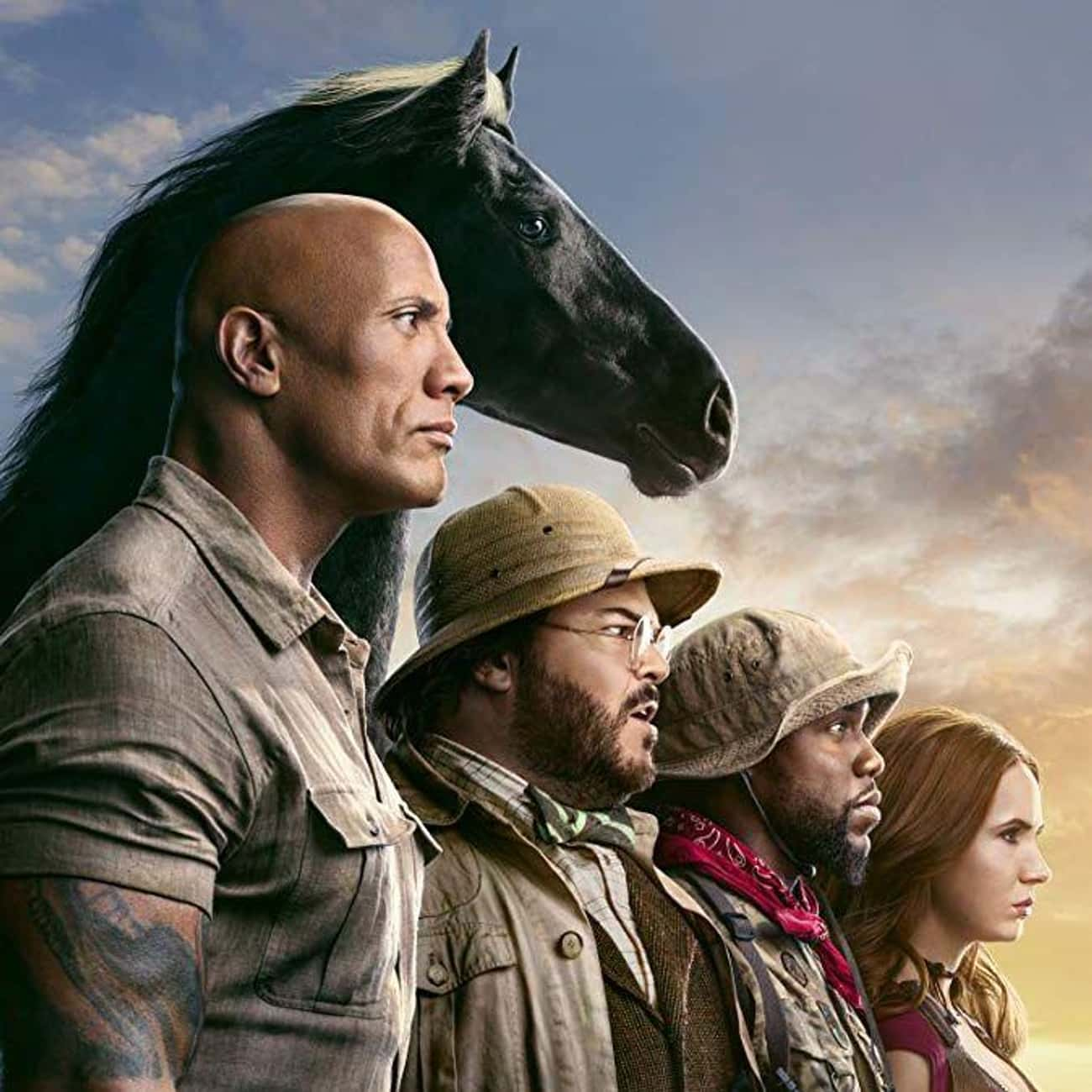 Jumanji: The Next Level is listed (or ranked) 3 on the list The Best Movies About Playing Video Games