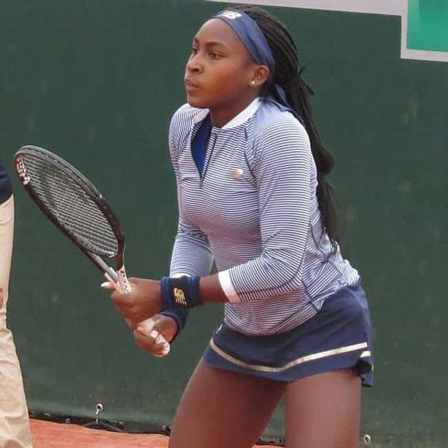 Coco Gauff is listed (or ranked) 4 on the list The Best Black Tennis Players Right Now