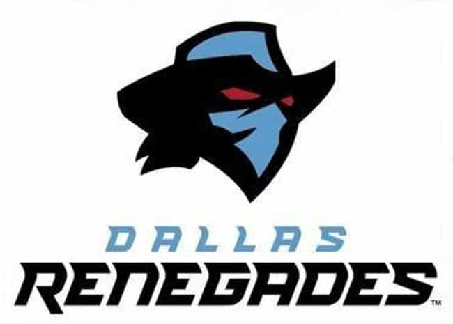 Dallas Renegades is listed (or ranked) 3 on the list Every New Team In The 2020 XFL