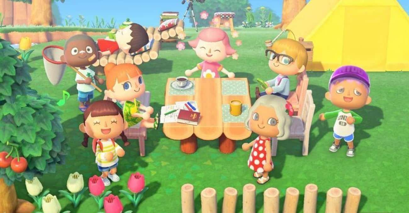 Animal Crossing: New Horizons is listed (or ranked) 4 on the list The Most Popular Couch Games For The Switch Right Now