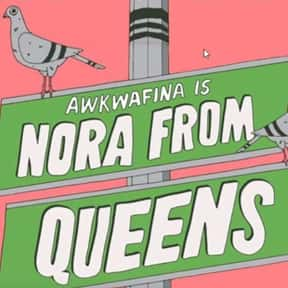 Awkwafina Is Nora from Queens is listed (or ranked) 16 on the list The Best Current TV Shows Starring Musicians