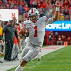 Justin Fields is listed (or ranked) 1 on the list The Best Ohio State Buckeyes Quarterbacks of All Time