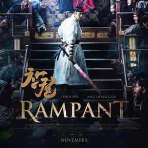 Rampant is listed (or ranked) 13 on the list The Best Korean Historical Movies Of All Time