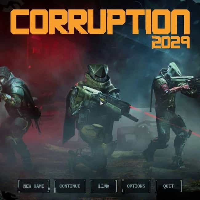 CORRUPTION 2029 is listed (or ranked) 4 on the list The Best New PC Games Of 2020