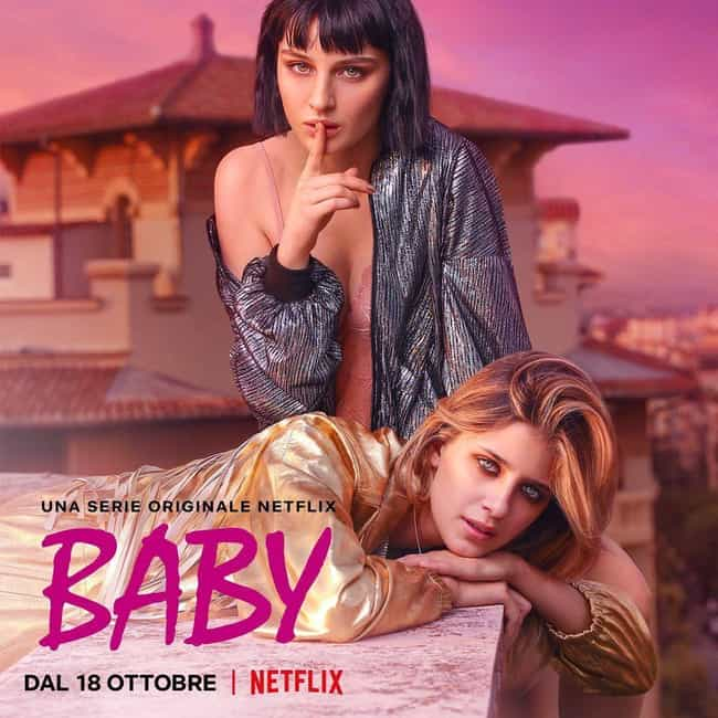 Baby is listed (or ranked) 3 on the list What To Watch If You Love 'Élite'