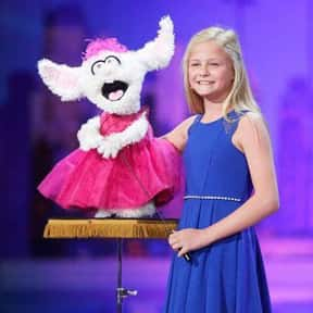 """Darci Lynne Farmer is listed (or ranked) 23 on the list The Best """"America's Got Talent"""" Acts"""