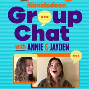 Group Chat is listed (or ranked) 14 on the list Good TV Shows for 12 Year Olds