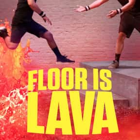 Floor Is Lava is listed (or ranked) 22 on the list The Best Obstacle Course Competition Series Ever