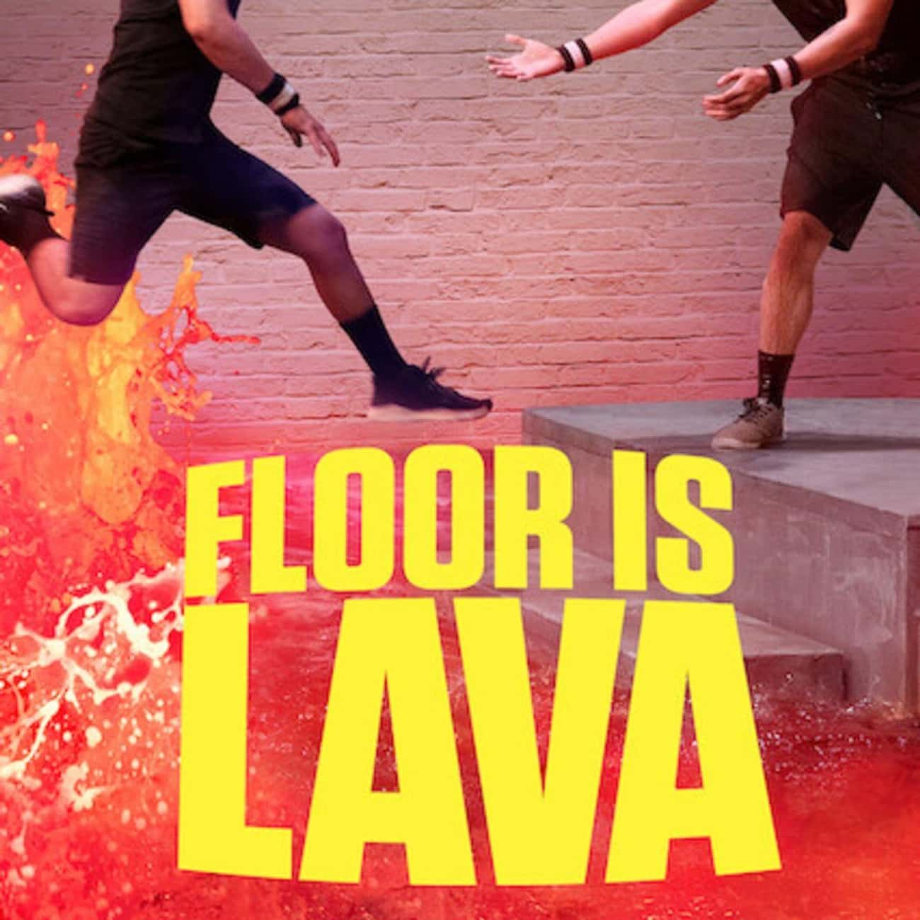 Floor Is Lava is listed (or ranked) 1 on the list What To Watch If You Love 'Wipeout'