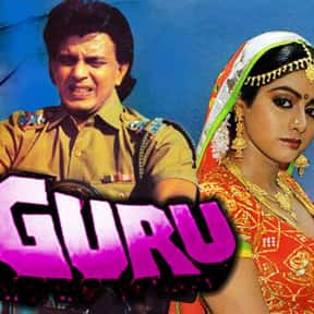 Guru is listed (or ranked) 7 on the list The Best Sridevi Kapoor Movies
