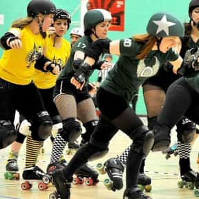 Roller Derby is listed (or ranked) 24 on the list The Best Team Sports for Girls