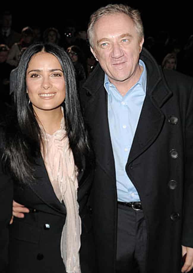 François-Henri Pinault is listed (or ranked) 1 on the list Men Who Salma Hayek Has Dated