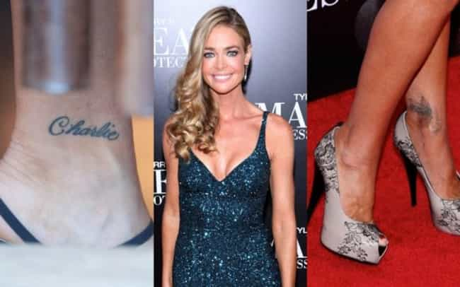 Denise Richards is listed (or ranked) 4 on the list Celebrities Who Said Goodbye to Their Tattoos