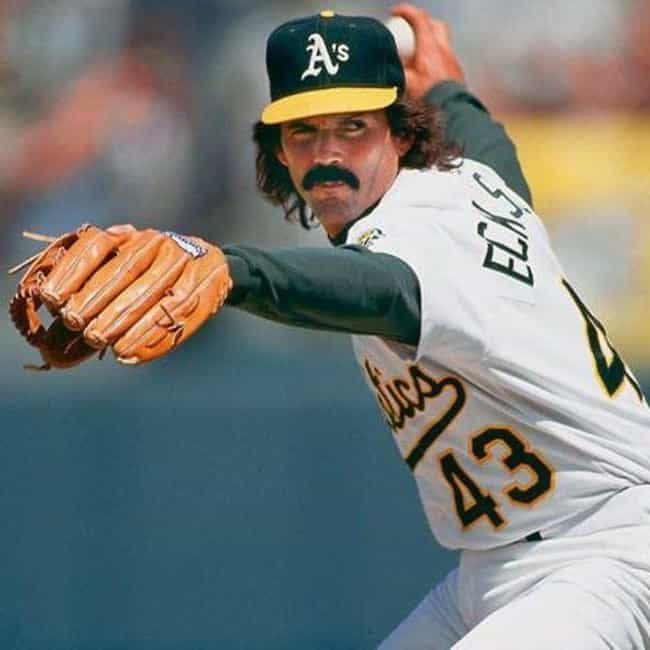 Dennis Eckersley is listed (or ranked) 2 on the list The Best Athletes Who Wore #43