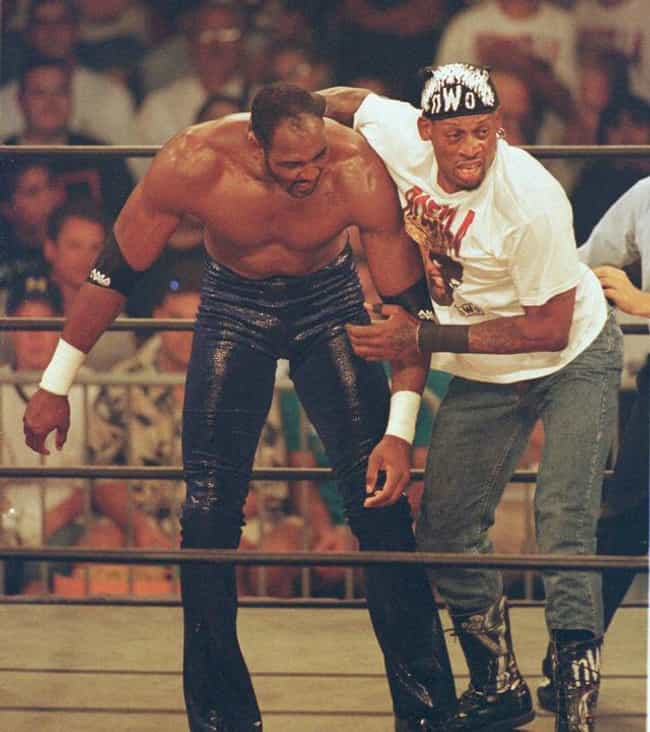 Dennis Rodman is listed (or ranked) 1 on the list 26 Athletes Who Became Wrestlers