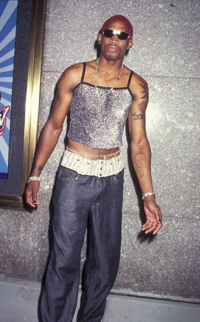 Dennis Rodman is listed (or ranked) 8 on the list The Most Outrageous Outfits Ever Worn to the MTV VMAs