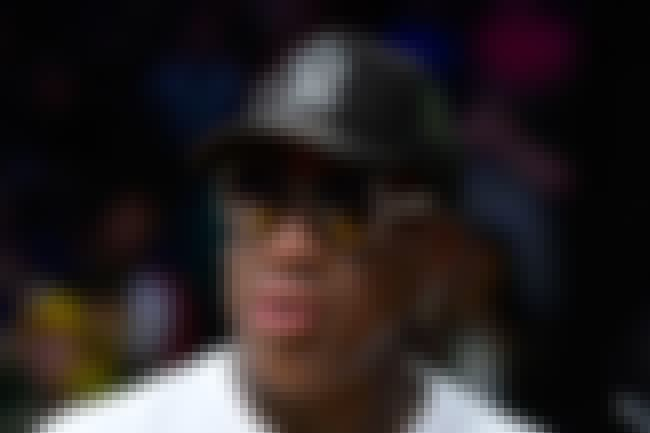 Dennis Rodman is listed (or ranked) 4 on the list Famous Male Basketball Players