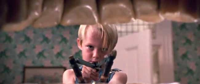 Dennis the Menace is listed (or ranked) 2 on the list Movies From Your Childhood That Taught You Bad Lessons