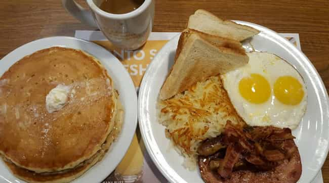 Denny's is listed (or ranked) 1 on the list 40 Epic Things You Can Do For Free On Your Birthday