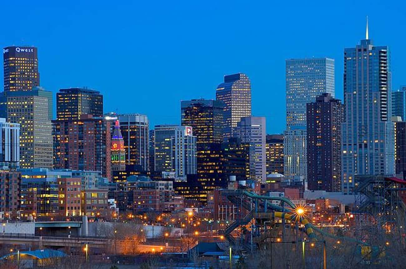 Denver is listed (or ranked) 4 on the list The Best Cities for Young Couples