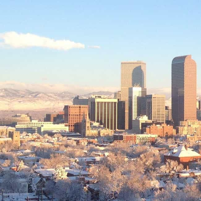 Denver is listed (or ranked) 1 on the list The Best Places In Colorado To Live