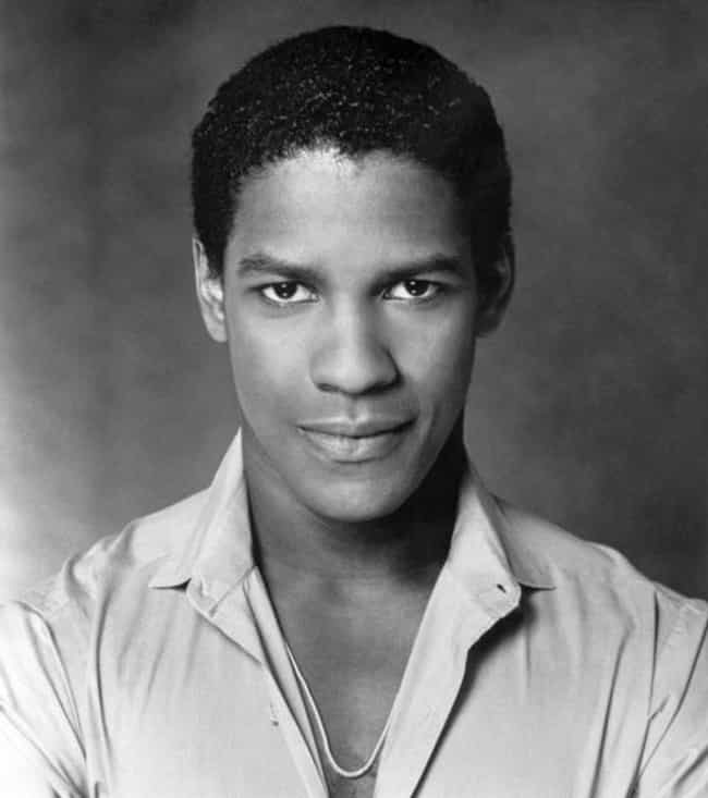 Is It Just Us Or Is Denzel Washington Really Symmetrical?