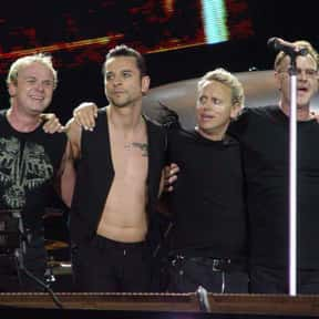 Depeche Mode is listed (or ranked) 1 on the list The Best Electronic Bands & Artists