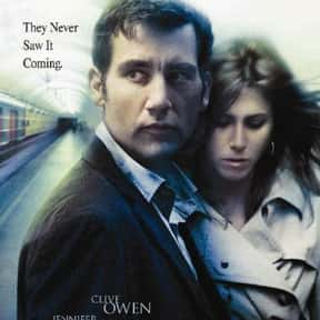Derailed is listed (or ranked) 17 on the list The Very Best Jennifer Aniston Movies
