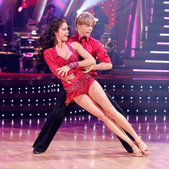 Derek Hough is listed (or ranked) 2 on the list Every Celebrity Shannon Elizabeth Has Dated, From Derek Hough To Enrique Iglesias