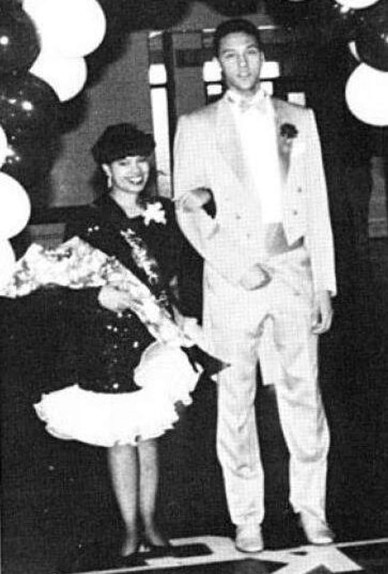 Derek Jeter Hits a Prom Home R is listed (or ranked) 4 on the list Athlete Prom Photos That Prove We All Had an Awkward Phase