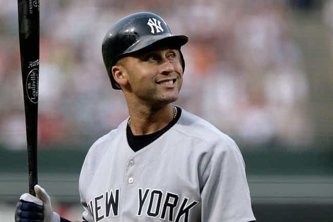 Derek Jeter is listed (or ranked) 2 on the list Men Who Jessica Alba Has Dated