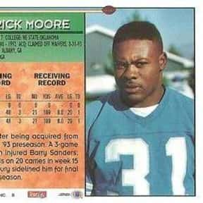 Derrick Moore is listed (or ranked) 18 on the list The Best Carolina Panthers Running Backs of All Time
