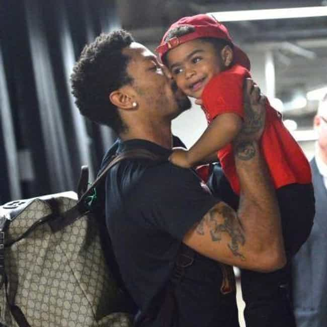 Derrick Rose is listed (or ranked) 2 on the list Adorable Pictures of NBA Players Caught Being Dads