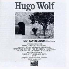 Der Corregidor is listed (or ranked) 8 on the list List of Comic opera Operas