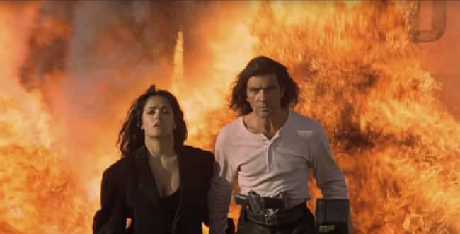 Desperado is listed (or ranked) 4 on the list The Most Badass Walk-Away-From-Explosion Moments In Film, Ranked