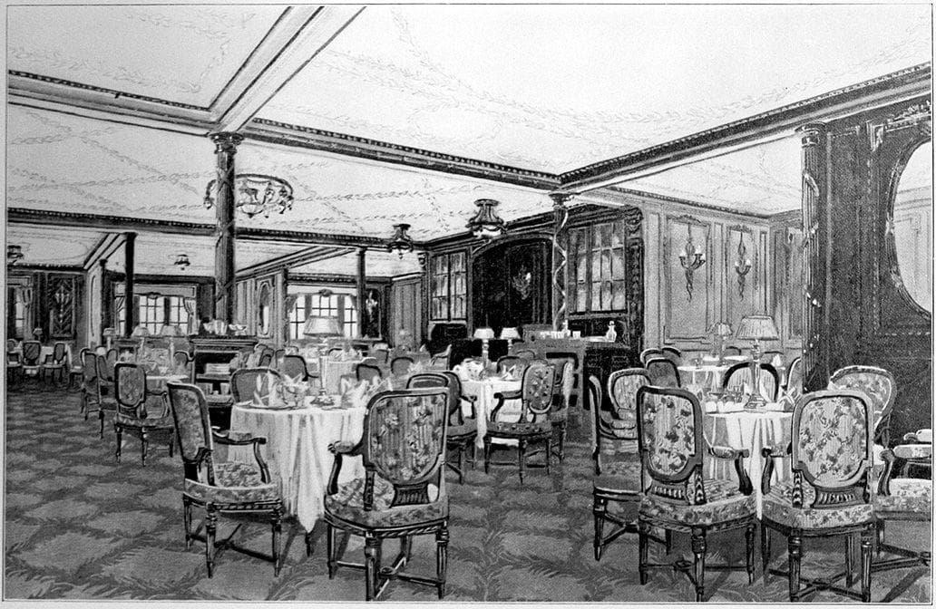 Random Foods Passengers Eat On Titanic