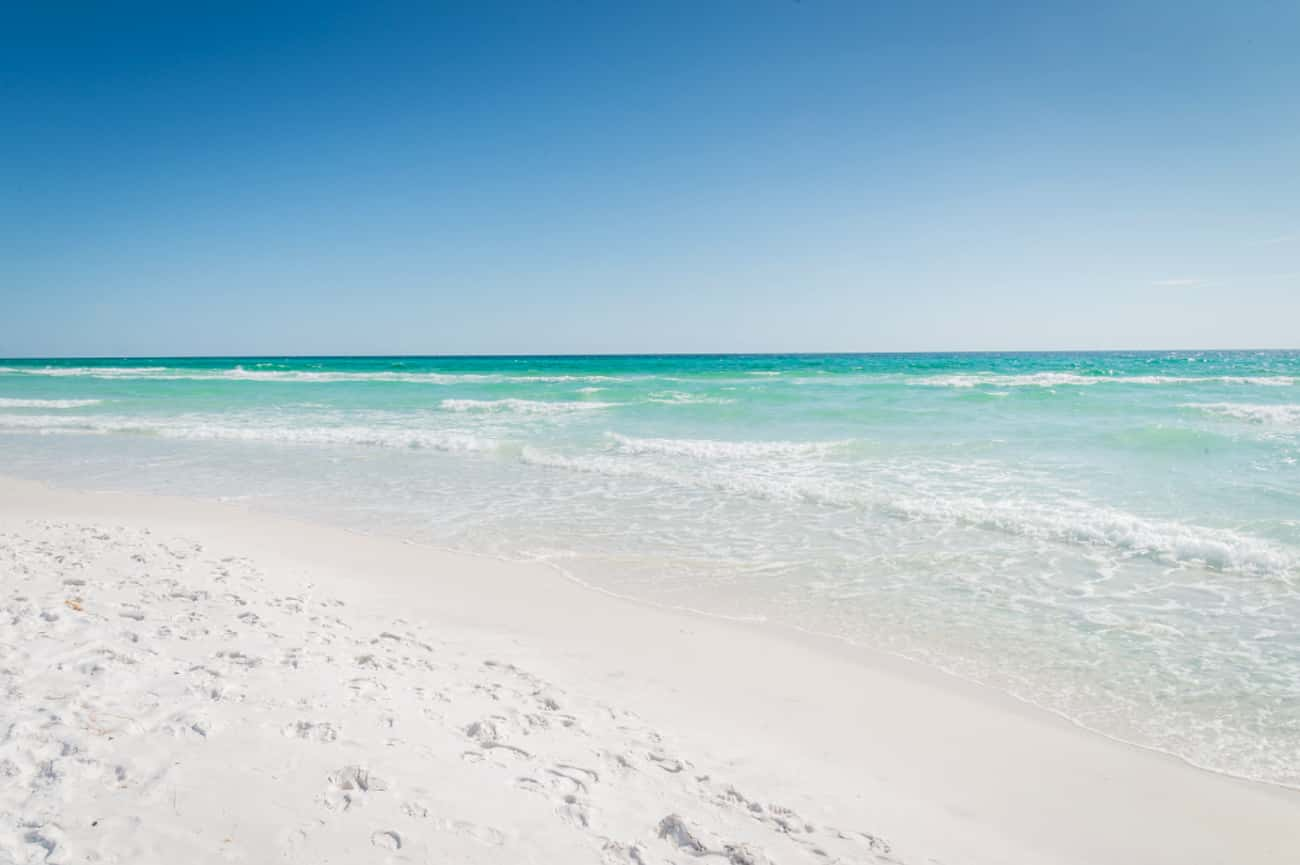Destin is listed (or ranked) 1 on the list The Best Beaches in the South