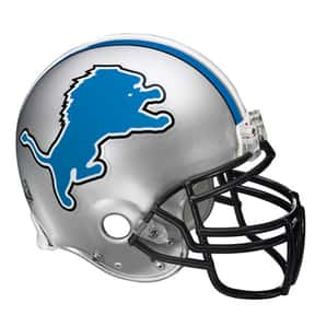 Lions is listed (or ranked) 20 on the list The Best Current NFL Helmets