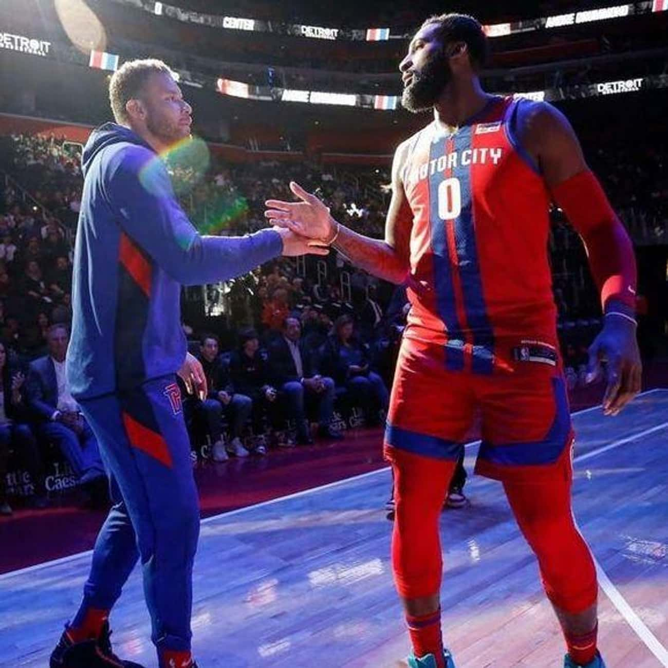Detroit Pistons is listed (or ranked) 1 on the list The Ugliest NBA Jerseys Of The 2019-2020 Season