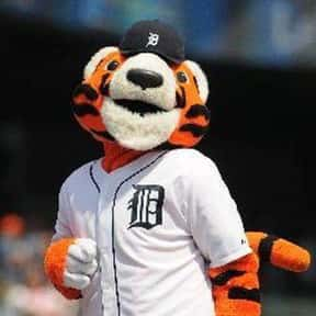 Paws is listed (or ranked) 6 on the list The Best Mascots in Major League Baseball