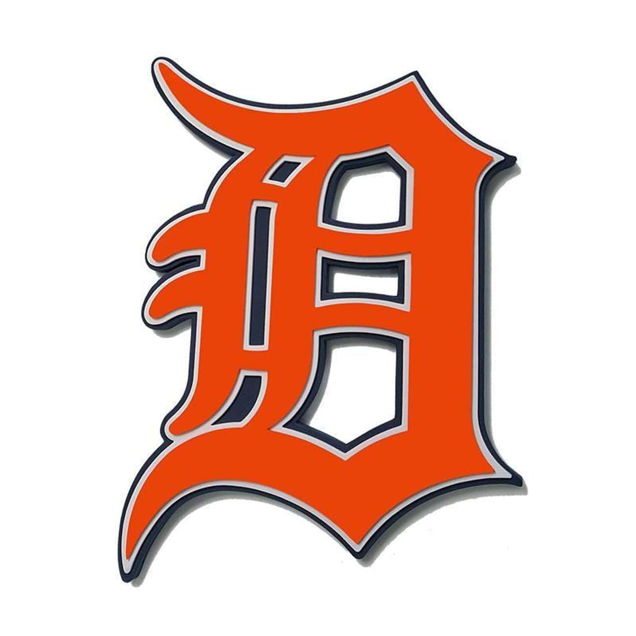 Detroit Tigers is listed (or ranked) 3 on the list The Coolest Baseball Team Logos Of All Time